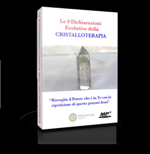 Audio Corso Le 9 Dichiarazioni Evolutive della Cristalloterapia per curare ansia e stress, Audio Corso Riduci lo stress con le 9 Dichiarazioni della Cristalloterapia, Audio Corso Mai più Stress con le 9 Dichiarazioni della Cristalloterapia