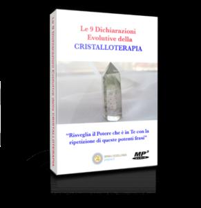 le 9 dichiarazioni evolutive della cristalloterapia