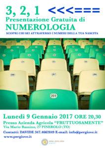 Numerologia a Pinerolo Gennaio 2017, Gennaio 2017 NUMEROLOGIA A PINEROLO, Serata gratutita di Numerologia a Pinerolo 9 Gennaio 2017