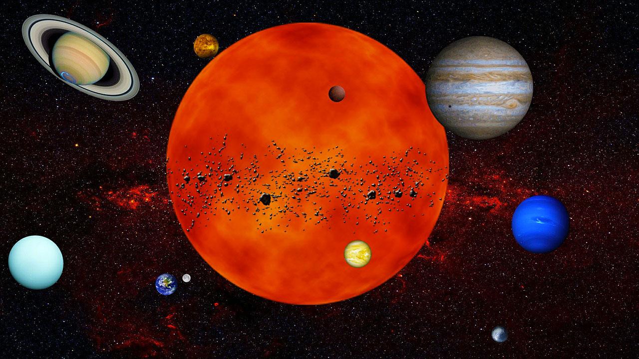 Astrologia Evolutiva e Sistema Solare