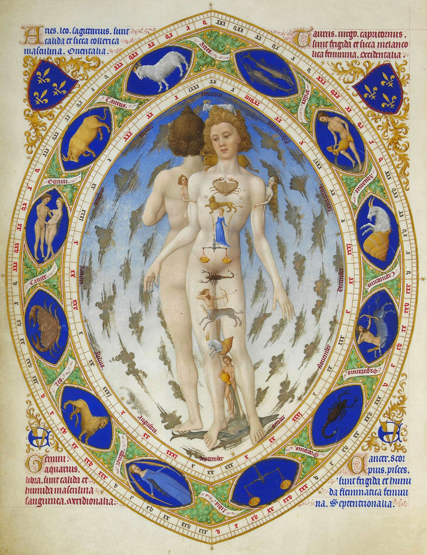 Astrologia Evolutiva e parti del corpo