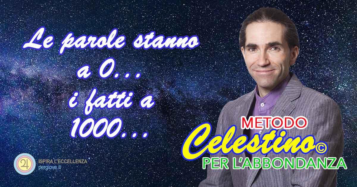 Corso Libertà Finanziaria Metodo Celestino per l'Abbondanza www.pergiove.it