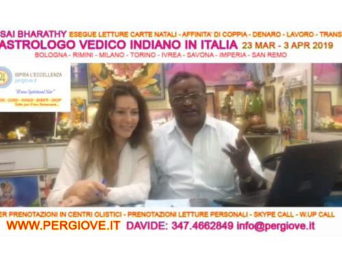 Astrologo Vedico Consulenze in Italiano su prenotazione