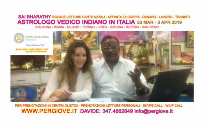 ASTROLOGO VEDICO CONSULENZE IN ITALIANO tel: 3474662849 | www.pergiove.it