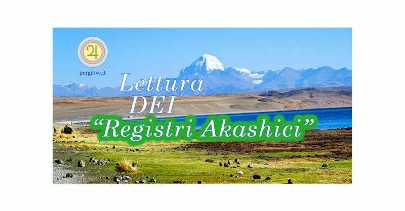 Lettura dei Registri Akashici - www.pergiove.it