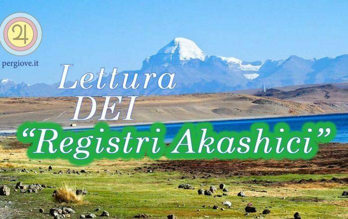Lettura dei Registri Akashici www.pergiove.it Davide Celestino Bertaina