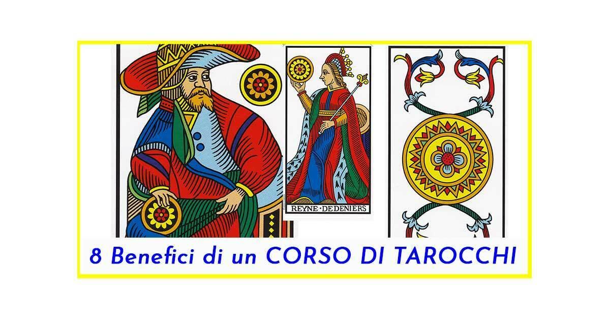 Benefici di un Corso di Tarocchi PerGiove.it