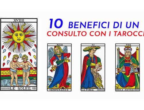 Consulto Tarocchi: i 10 benefici del perché farselo fare