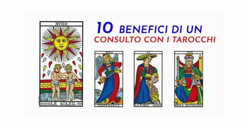 Consulto Tarocchi i 10 Benefici - www.pergiove.it